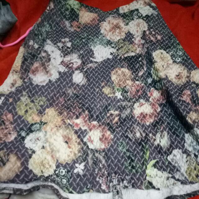 warehouse skirt & top
