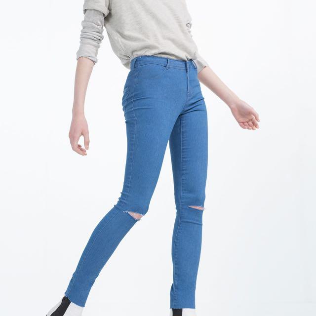 500e546e Zara High Elasticity High Rise Jeggings, Women's Fashion, Clothes ...