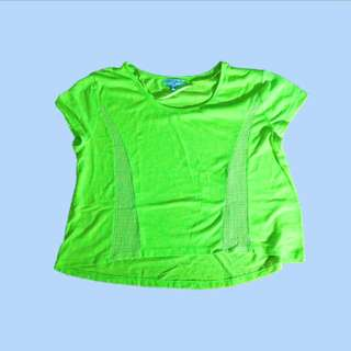 Neon Green Cotton On Flowy Top