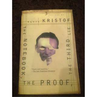 The Notebook, The Proof, The Third Lie by Agota Kristof (Paperback)