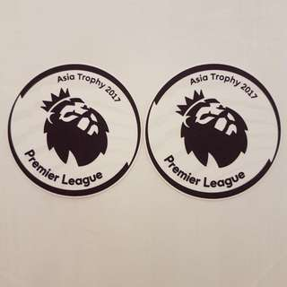 Liverpool Leicester Asia Trophy 2017 Sleeve Badges