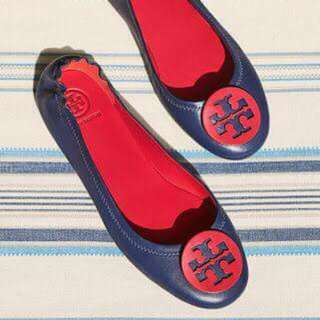 💥SALE💥 Tory Burch Minnie Travel Ballet Flats Shoes FREE SHIPPING