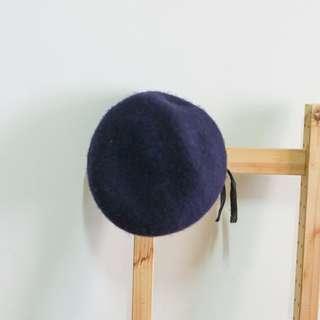 日本 軍品 貝雷帽 / 男 100% WOOL VINTAGE