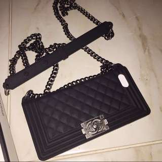 CHANEL BAG CASE IPHONE 5