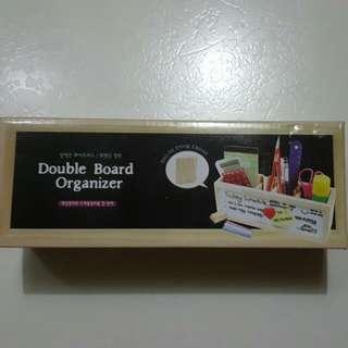 Wooden Double Board Organizer