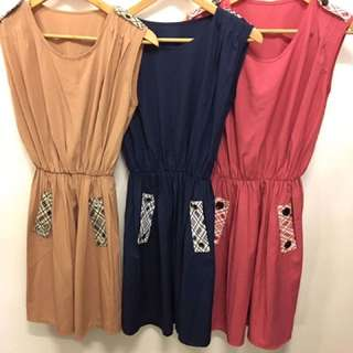 INSTOCKS! Casual Romper Dress