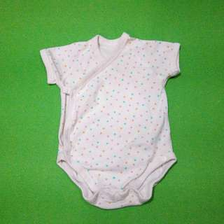 GENTLY USED Uniqlo Baby Onesie - Dots