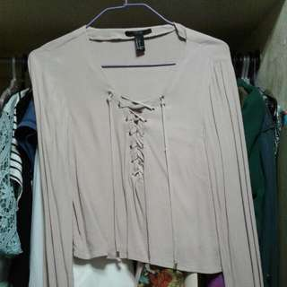 Forever 21 Tie Top