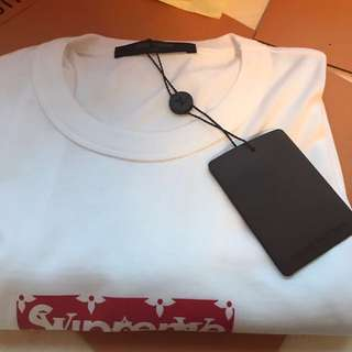 Supreme x Louis Vuitton Box Logo Tee