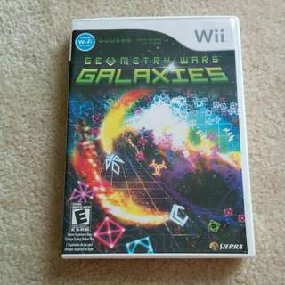 Wii Game Geometry Wars Galaxies