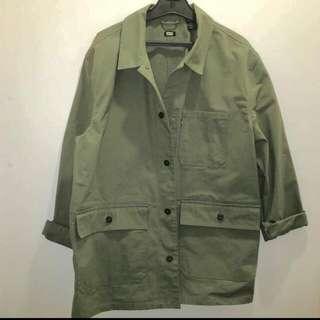 Khaki Green Levis Jean Jacket
