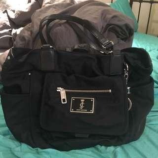 Juicy Couture Large Black Bag