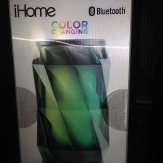 LNIB ihome wireless rechargeable LED speaker