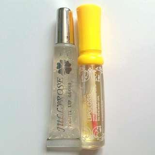 2 Lip Glosses