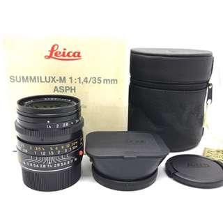 Leica 35mm Summilux F1.4 ASPH 11874
