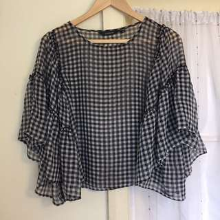 Glassons Gingham Blouse