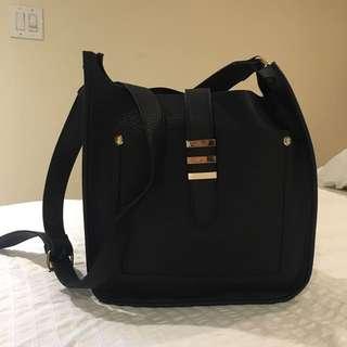 Aldo Black Messanger Bag