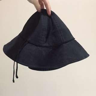 無印良品亞麻漁夫帽 MUJI帽寬沿帽