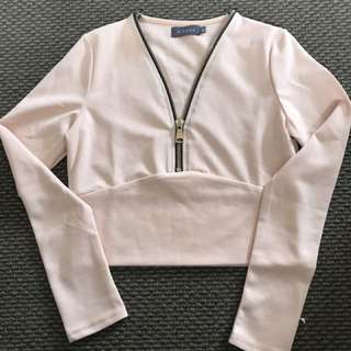 Long Sleeved Crop