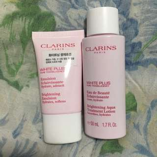 Clarins Essence Lotion Samples