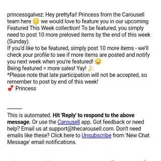 Thankyou Carousell 💖😘🍀
