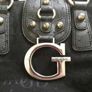 GUESS Black Stylish Handbag