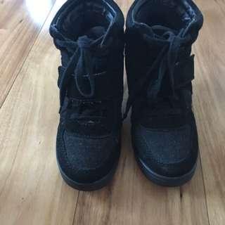 Windsor Smith Women's Sneaker Wedge Boots