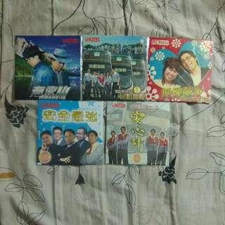 KMB 九巴900茶水站光碟5隻