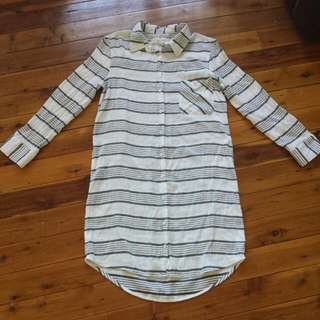 Shirt Dress. Size S