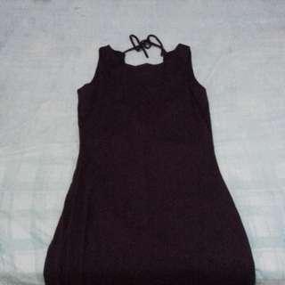 Maxi dress maroon