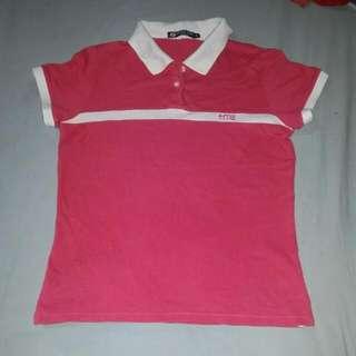Hangten Pink Polo Shirt