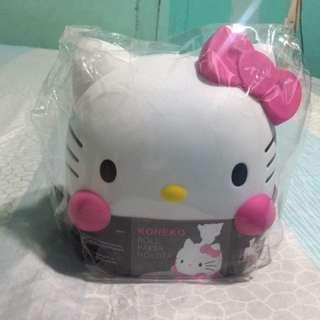 HELLO KITTY ROLL PAPER HOLDER