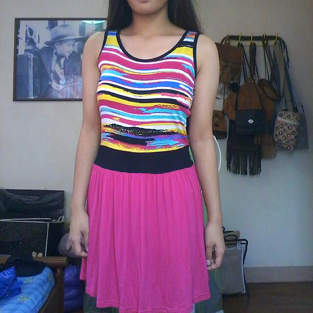 10/10 Cond! Blush pink dress