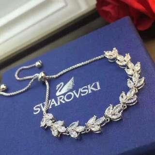 【SWAROVSKI】Leaf Bracelet