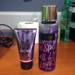 Victoria's Secret Love Spell Mist And Hand Cream