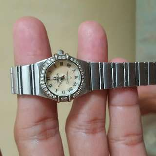 Omega 6553/865 constallation with diamond