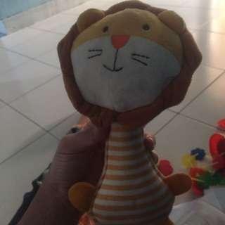 boneka lion bunyi  #jualmainan