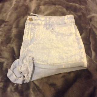 Forever 21 Washed Shorts