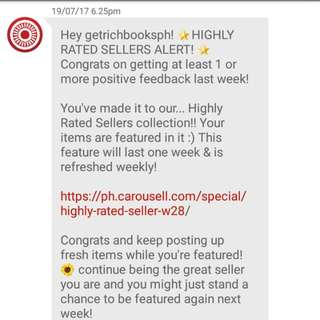 2nd Time!! Thank You Carousell! 😊