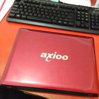 Laptop axioo 13 Inch Maroon