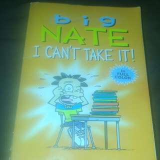 Big Nate I Cant Take It. By Lincoln Peirce