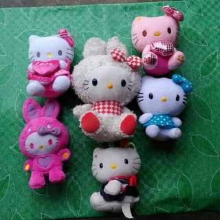 Hello Kitty Stuffed Toys From Japan SET