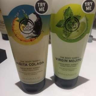 全新 Pina Colada / Mojito Body Sorbet / Butter / Scrub