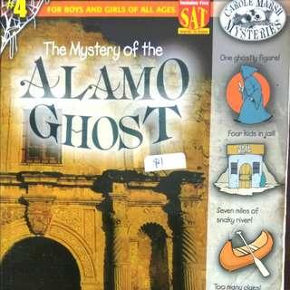 The Mystery Of The Alamo Ghost, Carole Marsh