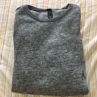 QS 灰色長版毛衣🤗