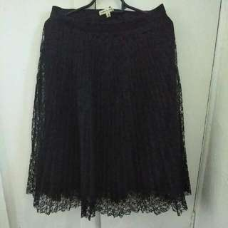 Black Lacey Skirt