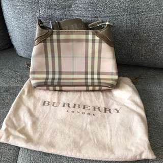 Authentic Small Burberry Blue Label Shoulder Bag