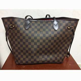 AUTHENTIC LV Damier Neverfull MM (Price Negotiable)