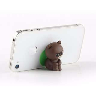 LINE Bear Phone Case with Holder Stand