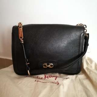 Authentic Ferragaml Shoulder Bag